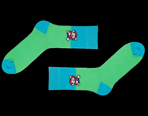 Sammy Icon Let's Play 8-Bit Socken