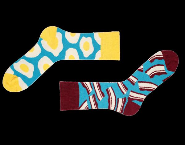 Spiegelei Socken Brekker