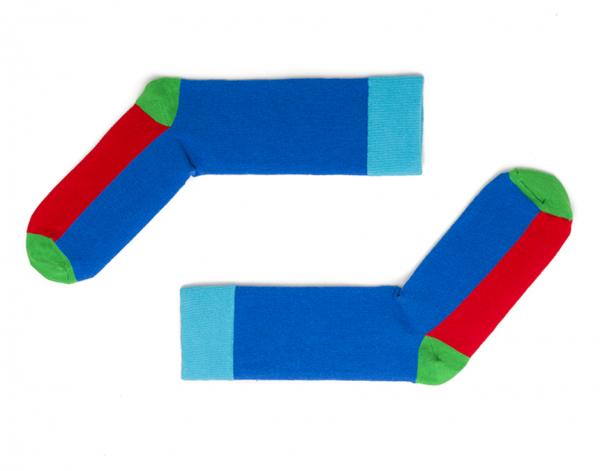 Lutry Blue Socken