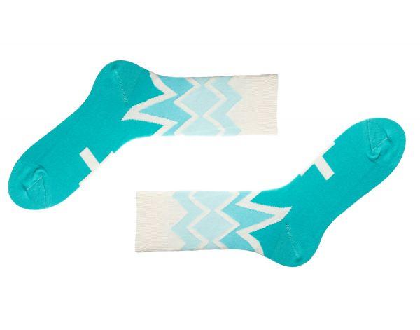Fitzroy Azure Socken SS16