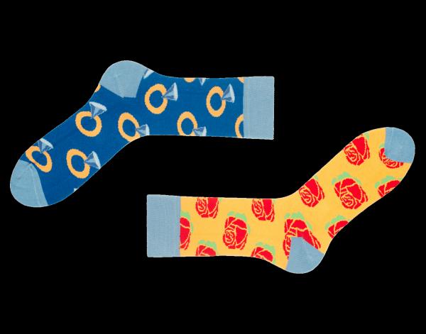 Mismatched Socken Sutter