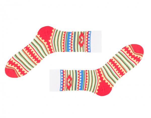 Indianische Socken Navajo
