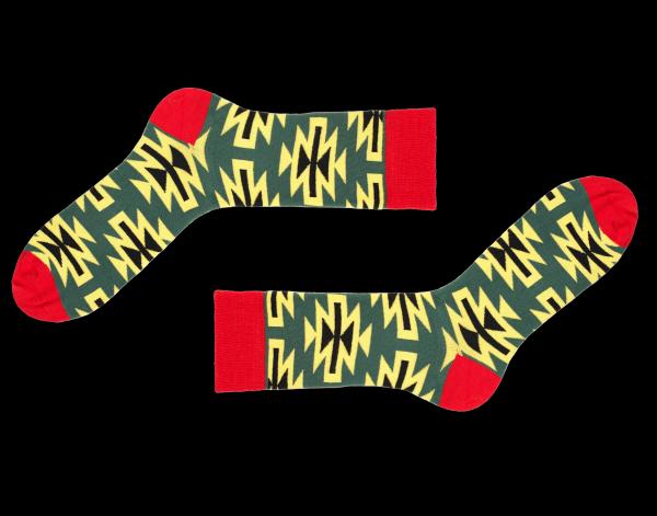 Gemusterte Socken Baltazar