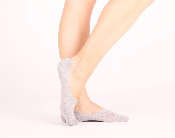 Füßlinge Sleeds grey Socken