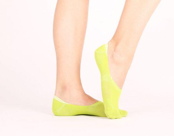 Füßlinge Sleeds lime Socken