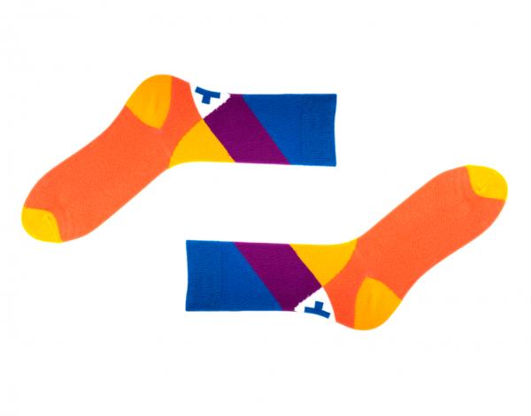 Bunte Socken Toscana