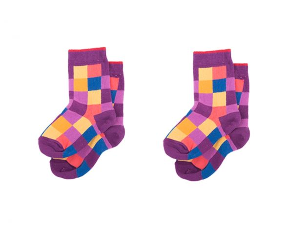 Squares Kinder Socken Set